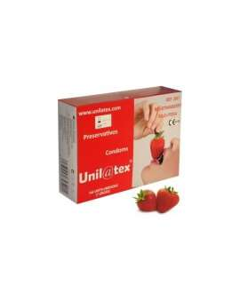 Caixa de 144 Preservativos Unilatex Morango, Sabores, Unilatex , welcomelover