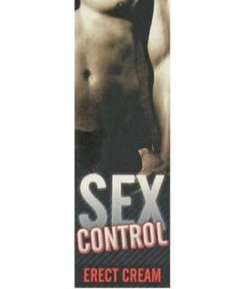 Gel de Ereção Sex Control 30 ml, Afrodisíacos, Ruf , welcomelover