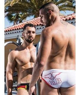 Bikini Mister B URBAN Laguna Beach Swim Branco, Sungas, , welcomelover