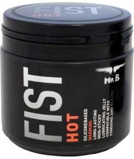 Lubrificante Silicone Mister B FIST Hot 500 ml, de Silicone, , welcomelover