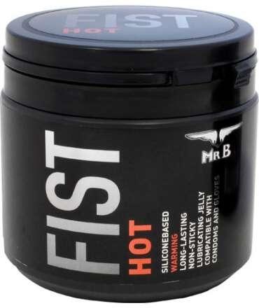 Lubrificante Silicone Mister B FIST Hot 500 ml, de Silicone, Mister B , welcomelover