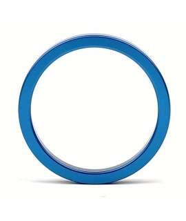 Cockring Azul Metálico