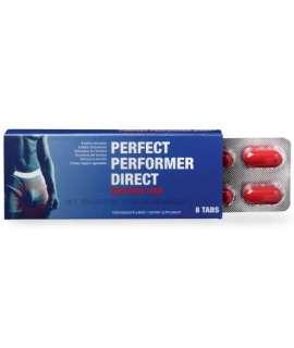 8 x Cápsulas Estimulantes Perfect Performer Direct, Estimulantes Homem , Cobeco Pharma, mister cock