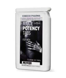 60 x Cápsulas Estimulantes para Homem Male Potency, Estimulantes Homem , Cobeco Pharma, mister cock