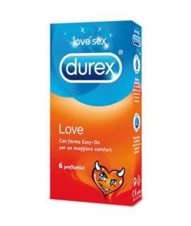 6 x Preservativos Durex Love, Extra Finos , Durex , welcomelover