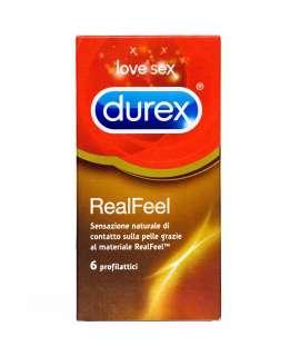 6 x Preservativos Durex RealFeel, Sem Látex , Durex , welcomelover