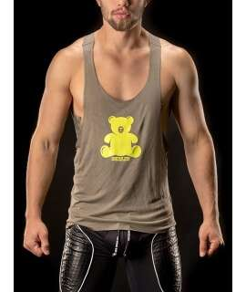 Manga Cava Muscle Tank Top Bear Army, Manga Cava , Barcode Berlin , welcomelover