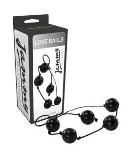 Bolas Anais Love Balls Jammy Jelly Anal Pretas, Bolas Anais, , welcomelover