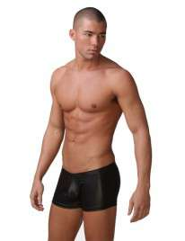 Boxers Couro Sintético, Boxers, , welcomelover