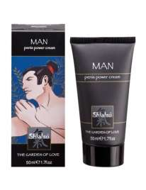 Creme Estimulante Masculino Shiatsu™ Penis Power Cream 50 ml