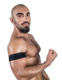 Banda Neopreno Mister B Biceps Preto SM
